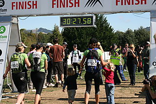 Crossing the finish line II
